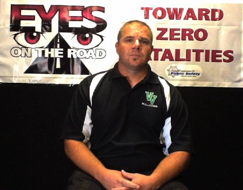 Virgin Valley Coach Chris Sawyers