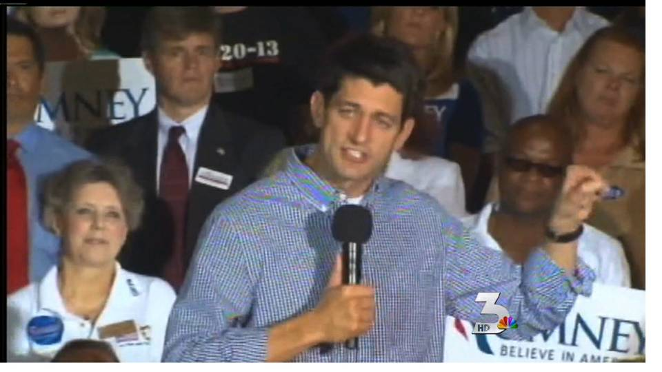 Paul Ryan visits Vegas as Romney\'s running mate