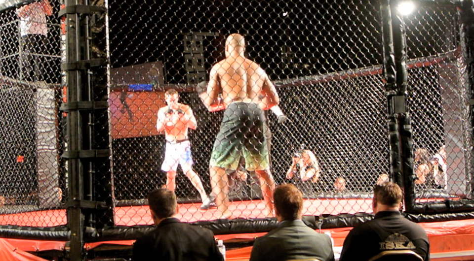 Ross Miller\'s MMA Fight