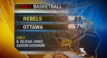 Las Vegas Sun sports reporter Taylor Bern discusses the Rebels' exhibition game against Ottawa.