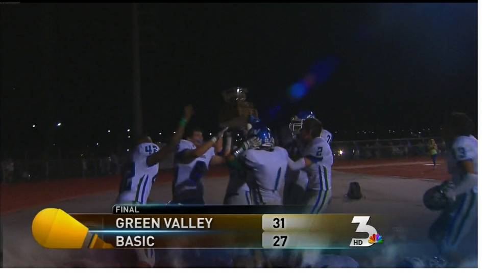 Green Valley High wins Henderson Bowl