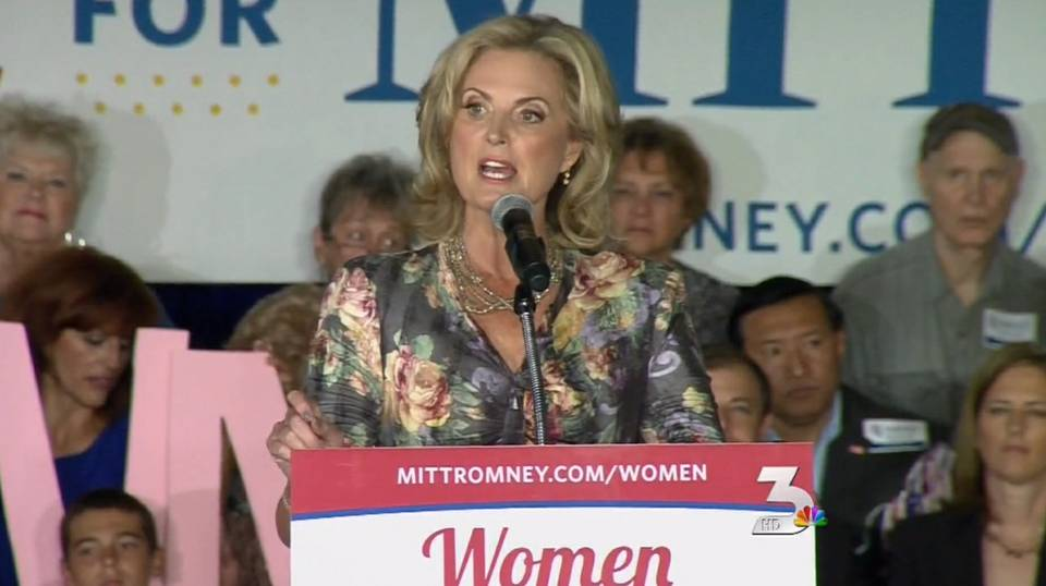 Ann Romney stumps for Mitt