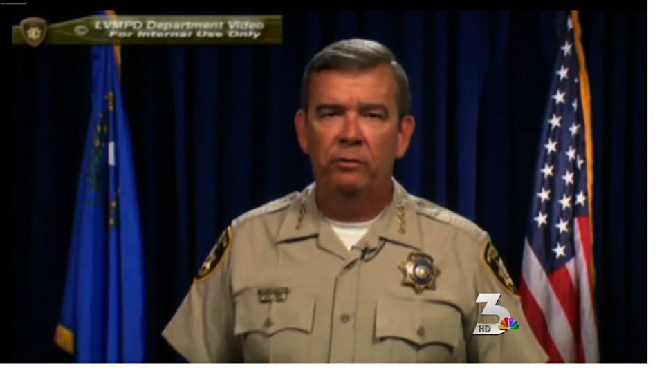 Metro Police sheriff releases video on grand jury case