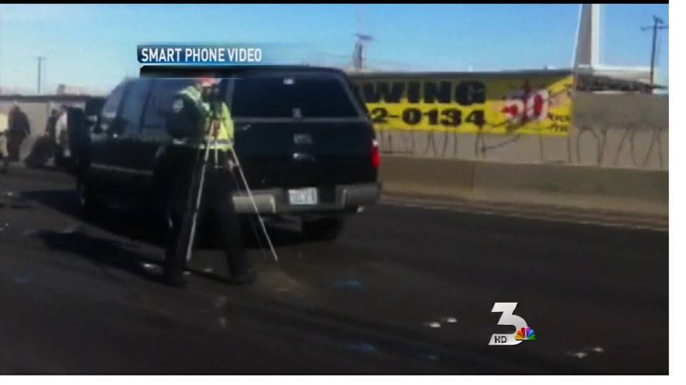 Sen. Reid suffers bruising in motorcade crash