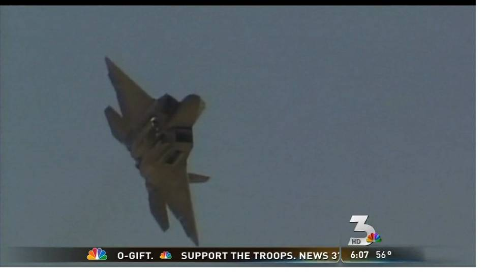 Air show at Nellis Air Force Base to kick off Saturday