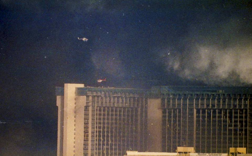 MGM Grand 1980 Fire Footage