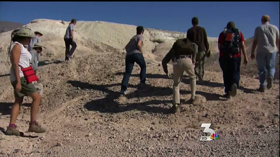 Fossils discovered in Tule Springs