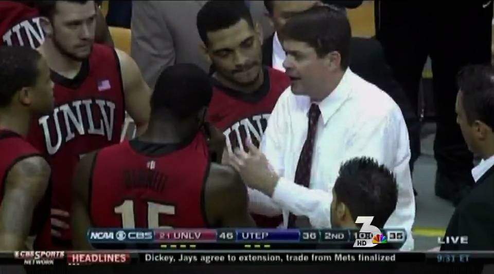 UNLV narrowly beats UTEP