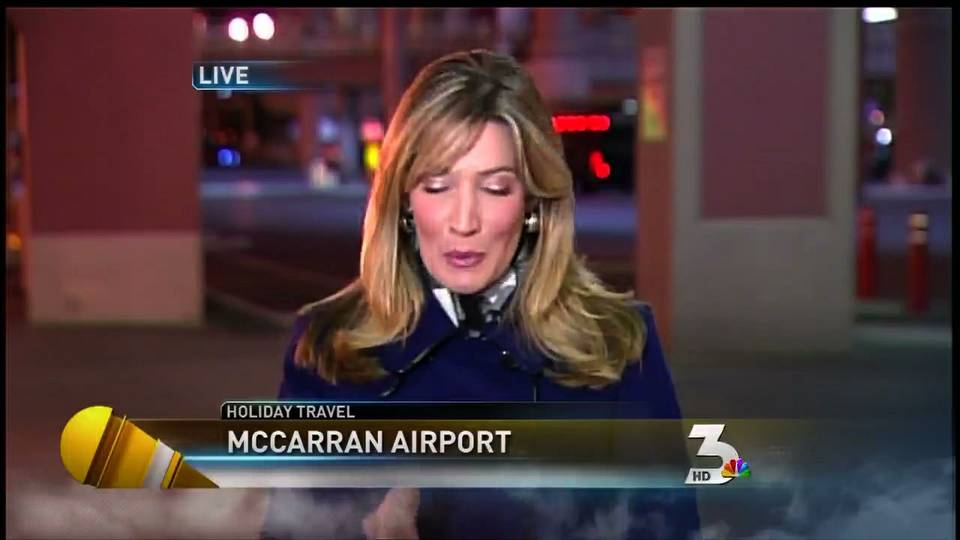 McCarran Aiport sees increased holiday traffic