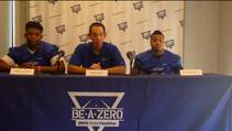 Las Vegas Sun sports editor Ray Brewers talks to Green Valley High School's football coach and key players ahead of their 2014 season.
