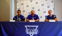 Las Vegas Sun sports editor Ray Brewer talks to Basic High School's football coach and key players ahead of the 2014 season.