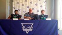 Las Vegas Sun sports editor Ray Brewer talks to Virgin Valley High School's football coach and key players ahead of their 2014 season.