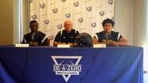 Las Vegas Sun sports editor Ray Brewer talks to Clark High School's football coach and key players ahead of their 2014 season.