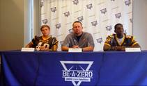 Las Vegas Sun sports editor Ray Brewer talks to Bonanza High School's football coach and key players ahead of their 2014 season.