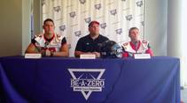 Las Vegas Sun sports editor Ray Brewer talks to Las Vegas High School's football coach and key players ahead of their 2014 season.