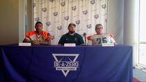 Las Vegas Sun sports editor Ray Brewer talks to Mojave High School's football coach and key players ahead of their 2014 season.