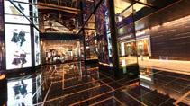 Cosmopolitan Las Vegas Lobby panorama