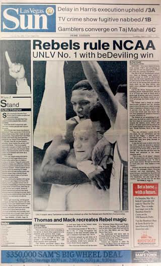 UNLV Rebels Win NCAA Championship